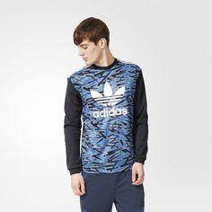 Shatter Stripe Goalkeeper Sweatshirt - Multicolor