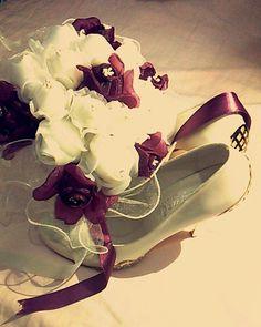 #Gelin #Ayakkabı #Çiçek