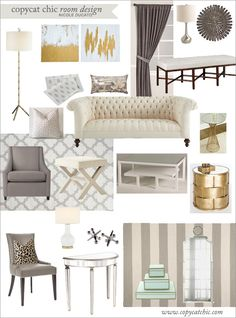 | Copy Cat Chic | chic for cheap: Copy Cat Chic Room Designs and Team Update