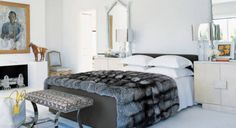 """Designer Delphine Krakoff mentions us as a source for bedding essentials in Elle Decor's """"How To Get Your Best Night's Sleep (In The Chicest Possible Room)"""" Thanks, Delphine!"""