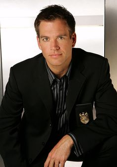 Michael Weatherly - NCIS  AKA Tony  He's pretty hot but maybe it's more his confidence and sense of humor that gets me lol