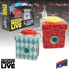 SNL Dick in a Box Salt and Pepper Shakers - Set of 2 - Bif Bang Pow! - Saturday Night Live - Kitchenware at Entertainment Earth TO BUY NOW CLICK ON LINK http://www.entertainmentearth.com/prodinfo.asp?number=BBP23813&id=TO-603025911