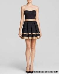 vestido negro juvenil - Buscar con Google