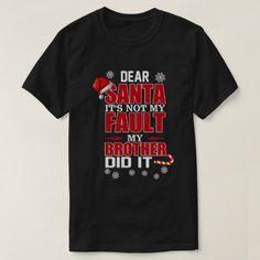Xmas Shirt For Sister From Brother.Gifts - Xmas ChristmasEve Christmas Eve Christmas merry xmas family kids gifts holidays Santa