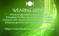 Wearing Green By La Hermosa Bruja