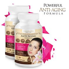 Powerful Anti Aging Formula! Get younger from within.