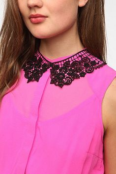 UrbanOutfitters.com > Lovely Lace Collar