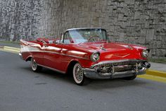 1957 Chevrolet Bel Air Convertible Maintenance/restoration of old/vintage vehicles: the material for new cogs/casters/gears/pads could be cast polyamide which I (Cast polyamide) can produce. My contact: tatjana.alic@windowslive.com