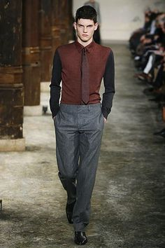 Hermès Fall 2006 Menswear Fashion Show