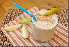 PEAR BANANA CINNAMON SMOOTHIE - Going on my top 5, to this recipe add: 10 almonds, 1 TB ea of chia & flax seeds, 1/2 a 'crunchy peanut butter' clif bar. For my largest nutribullet blending capsule, I doubled the recipe. Yummo! So tastey! The pear & banana are  are wonderful combination in a smoothie, and the peanut bar almost makes it taste like an oatmeal cookie.