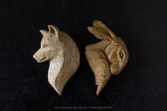 Fine art woodcarving by Giles Newman. Hand carved wooden art spoons, fine wooden jewellery and sculpture. Wood Carving Designs, Wood Carving Patterns, Wood Carving Art, Chip Carving, Bone Carving, Whittling Patterns, Whittling Wood, Bone Crafts, Wood Animal