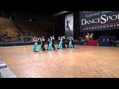 Pacific Ballroom Dance Junior Premier Standard Team at the 2013 Nationals (Final)
