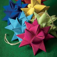 Kids Ornaments: Colorful Supernova Garland in The Mary N. Brite Collection