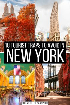 Check out 18 of the WORST tourist traps in NYC. Find out what not to do in NYC so that you can avoid these places like the plague. Because trust me, not one wants to wait hours in line, only to spend their hard earned money on something that is just mediocre. Also check out my picks for alternative things to do in NYC that will save you both time in money. New York Travel | New York City Travel | New York City Travel Tips | NYC Itinerary | NYC Travel Tips #NYCGuide #TravelNYC #VisitNYC #NYCTips