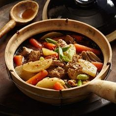 Chinese Pork & Vegetable Hot Pot - EatingWell.com