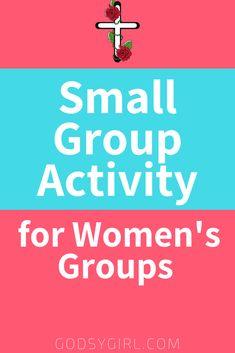 A Free Cool Women's Group Activity Idea