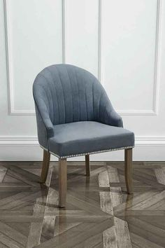 Kariss Smoke Grey Upholstered Occasional Chair