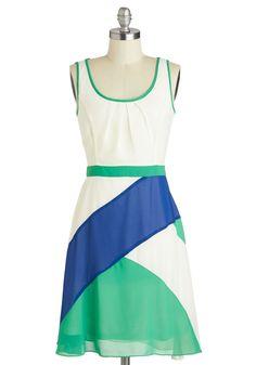 Ryu Awe Aboard Dress   Mod Retro Vintage Dresses   ModCloth.com