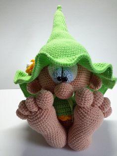Best 12 ELF amigurumi handmade gnome green hat and di AmigurumieBijoux – SkillOfKing. Crochet Amigurumi, Crochet Bunny, Amigurumi Doll, Amigurumi Patterns, Crochet Animals, Crochet Dolls, Knitting Patterns, Crochet Patterns, O Leprechaun