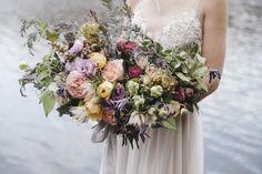 Mibellarosa Designs Houston Wedding Florist Botanical Flowers Purple Pink Yellow