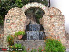 Fuente de Beires Arch, Outdoor Structures, Garden, Cozy Corner, Fonts, Longbow, Garten, Lawn And Garden, Gardens