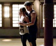 In the June 18 episode of Pretty Little Liars, Aria (Lucy Hale) teams up with hot new martial arts instructor Jake (Ryan Guzman).