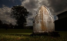 The gravestone of Allan and Mary McAskill in the grounds of St John's Anglican Church in Stroud. Local History, Family History, Anglican Church, Cold Case, St John's, News Online, Mary, World, Pictures