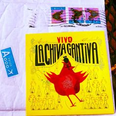 El disco de #LaChivaGantiva #Colombia #Francia #Vietnam #Bruselas #Belgica llegó hoy a nuestra oficina en #Miami ! The album of La Chiva Gantiva arrive today at our miami office from Belgium so you can listen on our radio from all the world! thanks for sending us your album and thanks to #CrammedDiscs ! #indie #alternative #music #station #percussion #afrobeat #fusion #rock #funk #music #crammeddiscs #musica #radio #album