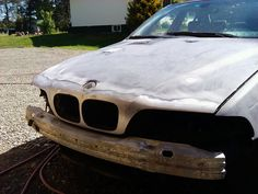 BMW Stripping front of stone chips. Bmw 528i, Stone Chips, Vehicles, Car, Automobile, Cars, Vehicle, Tools