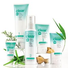 Nutrimetics Clear Range- Clinically proven to target the cause of blemishes and Aloe Vera Juice to restore the skin's natural balance