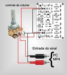 Amplificador de potência de 400 watts RMS estéreo | Áudio e Eletrônica