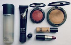 Tutorial usando apenas MAC   New in Makeup