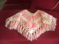 Crocheted Poncho for American Girl Doll
