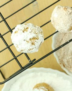 Ah-mazing Baked Donut Holes (Vegan/Low Carb/Paleo/Low Fat)