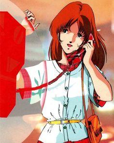 Lisa Hayes from Robotech Manga Anime, Sci Fi Anime, Old Anime, Anime Art, Anime Mech, Macross Anime, Macross Valkyrie, Robotech Macross, Lynn Minmay