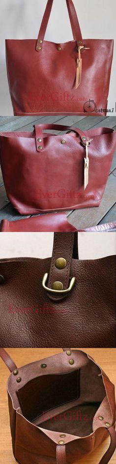 Genuine Leather vintage handmade shoulder bag crossbody bag handbag 1a5aaadc199d1