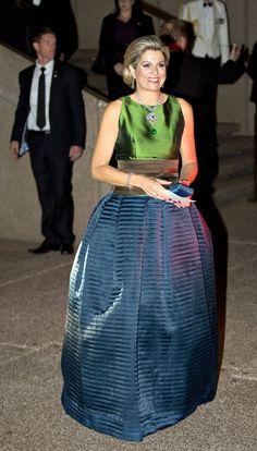 Reina Máxima de Holanda, durante el concierto celebrado en el Opera House de Sídney