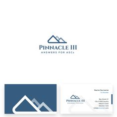 Pinnacle III - Pinnacle III needs a powerful logo and business card to capture & tell its incredible brand story