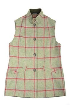 This Campbell's of Beauly Tweed Gilet makes a great layering piece or looks great alone with a shirt or jumper. Hip-length and a slim silhouette fit. Online Purchase, Tweed, Looks Great, Jumper, Women Wear, Slim, How To Make, Shirts, Tops