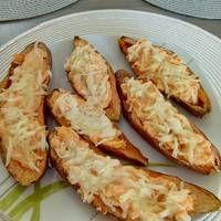 Vegetáriánus töltött édesburgonya Baked Potato, Sweet Potato, Cauliflower, Food And Drink, Potatoes, Baking, Vegetables, Ethnic Recipes, Bread Making