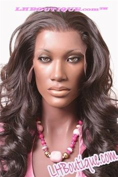 O Zone Black Natural Virgin Lace Front Wig 54