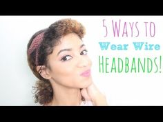 5 Quick Ways to Wear a Wire Headband! | Teen Diaries