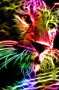 Electric animals by Canadian artist minimoo64, Photoshop animals  on AngryBoar.com Magazine  http://www.angryboar.com/social-gallery/electric-animals-by-canadian-artist-minimoo64-1