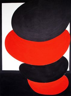 Terry Frost, red stacked pisa, 1971 on ArtStack #terry-frost #art