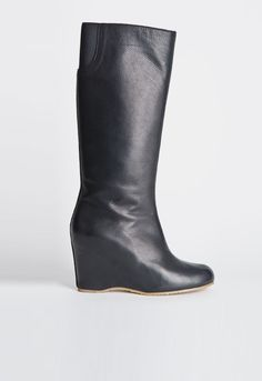 Knee High Covered Wedge Boot (at Roden Gray)