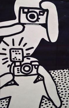 Keith Haring - Artist 20th century - Bad Painting - Underground Style - Station ALMA-MARCEAU