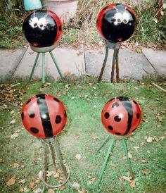 Grandma's Creations Ladybug Bowling Balls