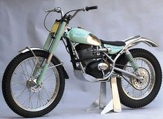 pinterest.com/fra411 #classic #trial - 1964 Bianchi 203 Trials Special
