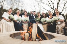NYE Winter wedding photograph by Daniel Fullam Photography.  #danielfullamphotography #winterweddings #weddings #snow #NYE