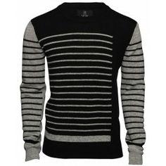 Bolongaro Trevor Grey Black Sweater - Bolongaro Trevor - Brands Black Sweaters, Grey, Fashion, Gray, Moda, Fashion Styles, Fashion Illustrations, Fashion Models